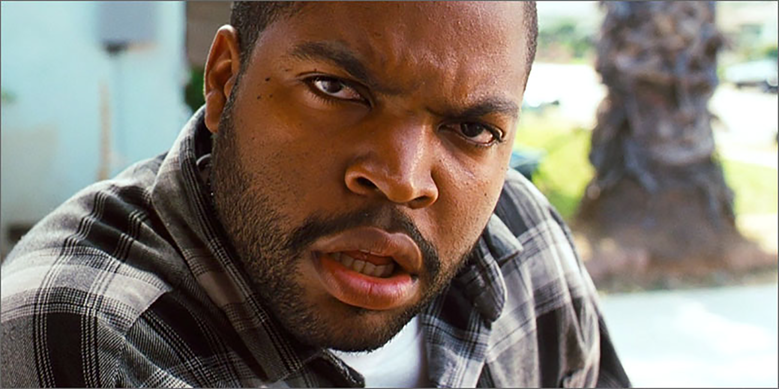 Ice Cube is confused by your vast networking knowledge (image property of New Line Cinema)